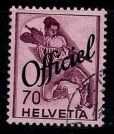 Suisse 1941 Mi. 57 Oblitéré 100% Service 70 C - Oficial