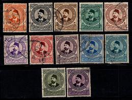 Égypte 1934 Mi. 191-202 Oblitéré 100% UPU, Personnalité - Usados