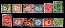 Égypte 1898-1921 Oblitéré 100% Timbre-taxe - 1915-1921 Protectorado Británico