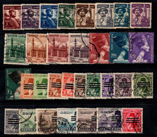Égypte 1953 Oblitéré 100% Travail, Soldats, Mosquée, Roi Furuk - Usados