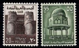 Égypte 1969 Mi. 447-448 Neuf ** 100% Monuments, Château, Histoire - Nuevos