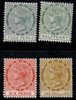 Tobago 1885 Mi. 18,20-22 Neuf ** 100% Reine Victoria, 1/2, 4, 6, 1 - Trinidad Y Tobago