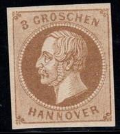 Hannover 1861 Mi. 19 Neuf ** 100% 3 Gr, Roi George V, Célébrités - Hanovre