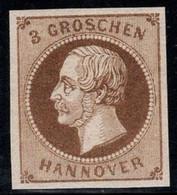 Hannover 1861 Mi. 19 Neuf ** 100% 3 G, Roi George V - Hanovre