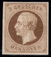 Hannover 1861 Mi. 19 Neuf * 60% Roi George V, 3 Gr, Célébrités - Hanovre