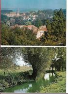 LOT DE 2 CPSM DE NESLES LA VALLéE - Nesles-la-Vallée