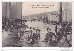 62) Boulogne Sur Mer.- Groupe De Baigneuses  - (belle Animation) - Boulogne Sur Mer