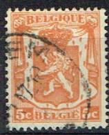 B 42 - BELGIQUE N° 419 Obl. Armoiries Petit Sceau - 1935-1949 Kleines Staatssiegel