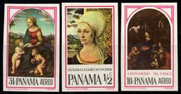 Panama 1966 Mi. 873A-875A Neuf ** 100% Art, Peintures - Panamá