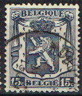 B 42 - BELGIQUE N° 421 Obl. Armoiries Petit Sceau - 1935-1949 Kleines Staatssiegel