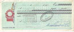 Portugal , 1970 , Letra , Bill Of Exchange ,  Tax 20$00 , Embossed Seal , Banco Português Do Atlântico Porto - Letras De Cambio