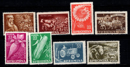Roumanie 1959 Mi. 1771-1178 Neuf ** 100% Animaux, Culture - Nuevos