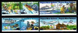 Papouasie-nouvelle-guinée 1995 Mi. 733-740 Neuf ** 100% Tourisme - Papúa Nueva Guinea