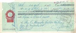Portugal , 1971 , Letra , Bill Of Exchange ,  Tax 28$00 , Embossed Seal , Banco Borges & Irmão  Porto - Letras De Cambio