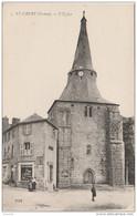 Q10-23)  SAINT VAURY (CREUSE) L EGLISE - (ANIMÉE - 2 SCANS) - Other Municipalities