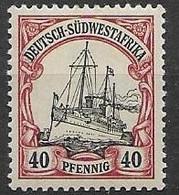 DSWA Mlh * (quasi **) - Colonie: Afrique Sud-Occidentale