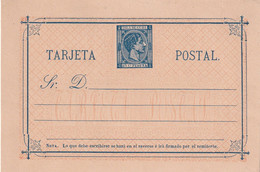 CUBA  ENTIER POSTAL/GANZSACHE/POSTAL STATIONARY CARTE - Covers & Documents
