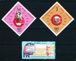 Cuba Nº 1533/35 Nuevo - Unused Stamps