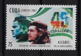 CUBA 2007. CHE. UNIÓN DE JÓVENES COMUNISTAS. MNH. EDIFIL 5054 - Unused Stamps