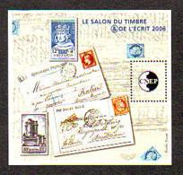 BLOC CNEP 2006 N° 46 **- SALON DU TIMBRE ET DE L'ECRIT SAINT LOUIS DONJON VINCENNES - CNEP