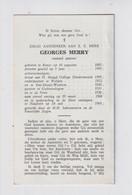 PASTOOR DE PINTE  GEORGES MERRY  RONSE 1885  NAZARETH  1969 - Overlijden