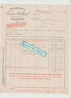 V P : Pyrénées Orientales à PERPIGNAN 1925 ( Pour Messei Orne, Pharmacien )  Vins Du Roussillon - Unclassified