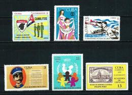 Cuba Nº 1467/... Nuevo ... - Unused Stamps