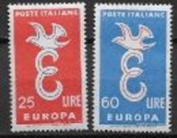Italie 1958 Neufs ** N°765/766 Europa - 1958