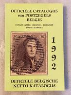 1992 - Officiële Catalogus Postzegels België - Congo Zaire Rwanda Burundi - Thema Europa - Officiële Belgische Netto Kat - Altri