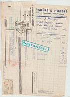 V P : Clichy , Seine, G. Pradère Et Hubert Faience, Carrelage , Pour Chantier à Flers , Orne 1937 - Unclassified