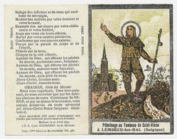 1890 Pèlerinage Au Tombeau De Saint Véron à Lembecq-lez-Hal_Malines,le 21 Avril 1890, GOOSSENS_Vintage_Belgique - Andachtsbilder