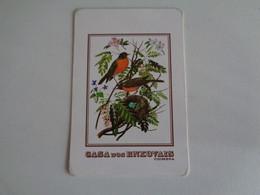 Birds Oiseaux Aves Casa Dos Enxovais Portugal Portuguese Pocket Calendar 1997 - Small : 1991-00