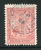 MADAGASCAR- Y&T N°68a)- Oblitéré (BELLE OBLITERATION!!! BELLE COTE!!! SIGNE AU DOS) - Used Stamps