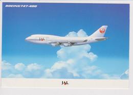 Vintage Rppc JAL Japan Air Lines Boeing 747 Aircraft - 1919-1938