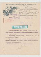 V P : Beurrerie-fromagerie De Kerjouano , Quimperlé ,finistère  Pour  Flers , 1928 - Unclassified