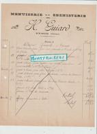 V P : Orne , Prés Argentan : EXMES : H . Guiard , Menuiserie  ébénisterie - Unclassified