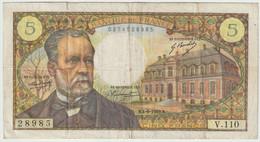 France 5 Francs Pasteur Banknote *mp210320 - 5 NF 1959-1965 ''Victor Hugo''