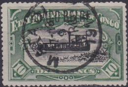 Congo   .  OBP  .   49PT    .    (2 Scans)     .   O   .       Gebruikt   .   / .   Oblitéré - 1894-1923 Mols: Used