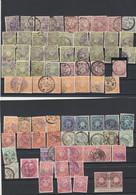 Japon 1899 1907 : 78 Timbres Dont Paire Yvert114 Voir Dentelure Oblitération - Used Stamps