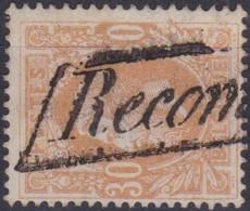Belgie  .  OBP  33     .   O   .   Gebruikt   .   / .   Oblitéré - 1869-1883 Leopold II.