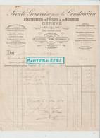 V P : Suisse , GENEVE , La  Construction  1890 , Instruments De Physique Et  Mécanique , Compresseur Colladon.... - Unclassified