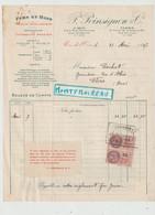 V P : Orne Flers- Caen  , P. Poinsignon  1937, Fers Et Bois - Unclassified