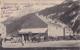 Hautes Alpes : BRIANCON : Fort Des Têtes : 12ém Bataillon De Forteresse : Militaria - Militaire - Briancon