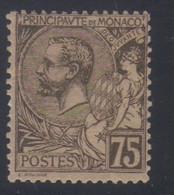 Monaco Prince Albert 1er  75 C. Brun-olive S.chamois  N° 45** Neuf - Nuovi