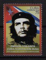 CUBA 2009. CHE. EMISIÓN CUBA-RUSIA. EDIFIL 5349 - Unused Stamps