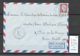 Reunion - Lettre PITON SAINT LEU - 1964 - Storia Postale
