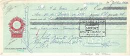 Portugal , 1971 , Letra , Bill Of Exchange ,  Tax 30$00 , Embossed Seal , Souza Cruz & Cª Banqueiros Porto - Letras De Cambio
