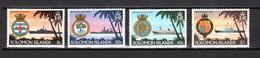 SALOMON  N° 419 à 422     NEUFS SANS CHARNIERE  COTE 4.65€     ARMOIRIE  BATEAUX PAYSAGE - Solomon Islands (1978-...)