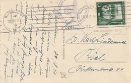 General Gouvernement Carte Censurée Warschau 1941 - Generalregierung