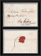 0606 Paris Marque Postale 2737 - 46MM TTB 26/3/1817 Port Payé Pour Le Havre LAC Cachet De Cire Lettre Cover France - 1801-1848: Voorlopers XIX